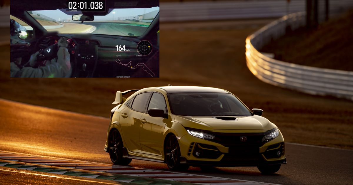 The Honda Civic Type R Limited Edition Is Suzuka s Fastest FWD Car