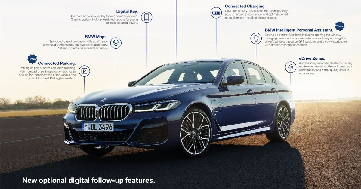 BMW Is Giving Access To Hardware Features Via Subscriptions And Free Trials