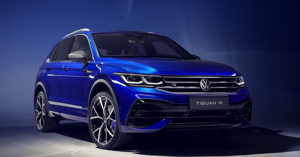 The VW Tiguan R Is The 316bhp Addition To A Growing Family