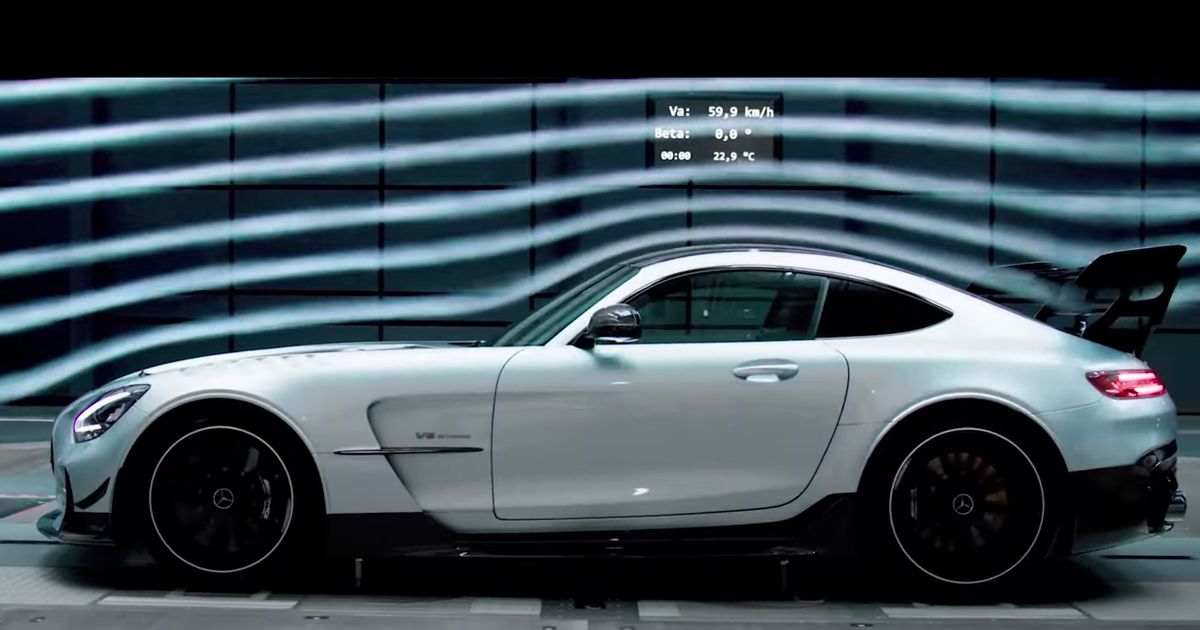 The Bewinged Mercedes-AMG GT Black Series Has Been Revealed Early