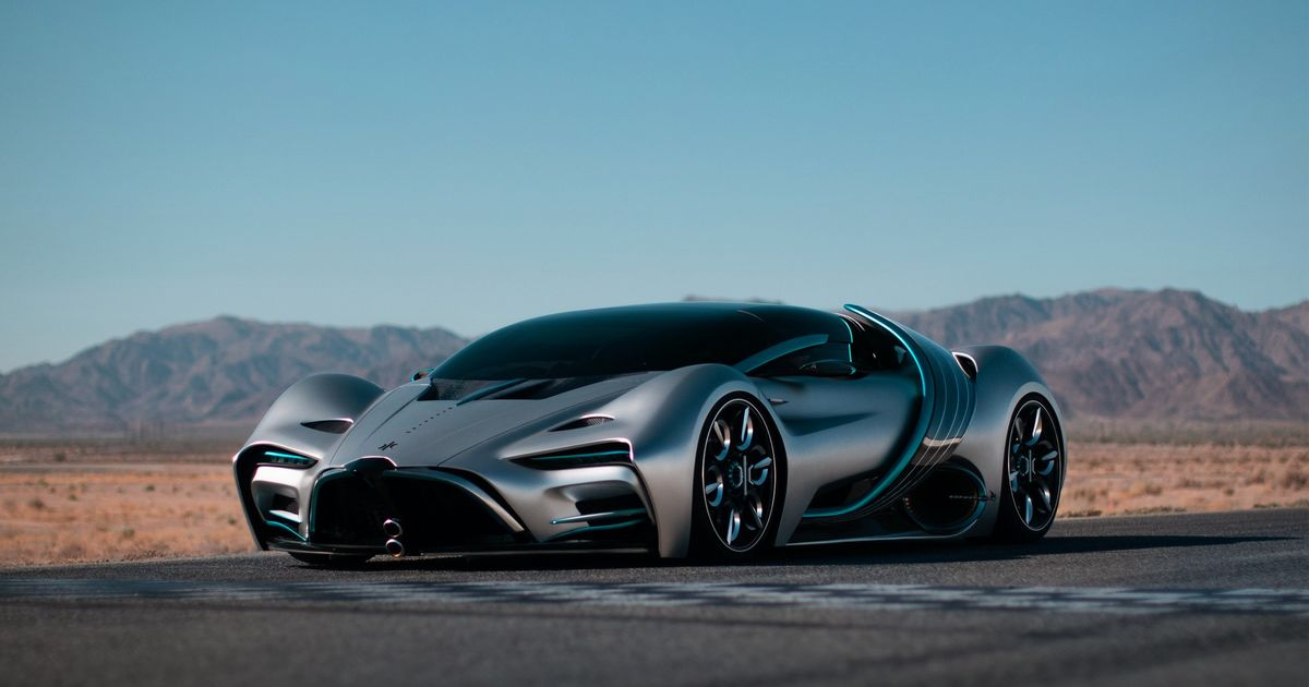Hyperion s XP-1 Is A Hydrogen Supercar That Promises 221mph And 1000 Miles On A Tank