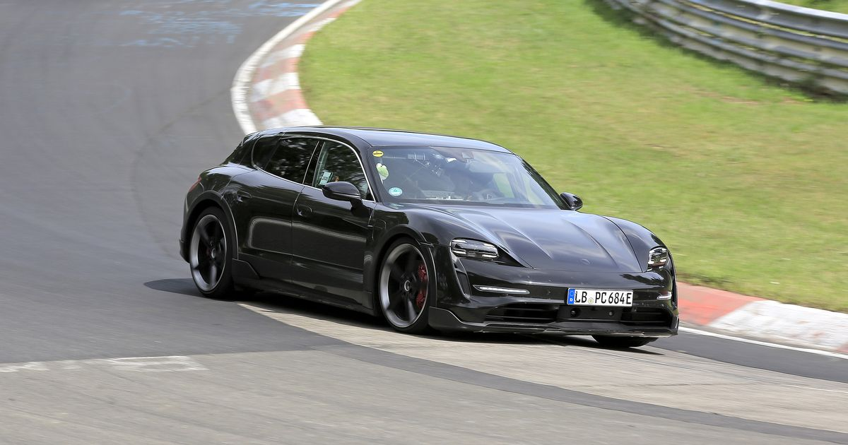 The Porsche Taycan Cross Turismo Looks Fast At The Nurburgring