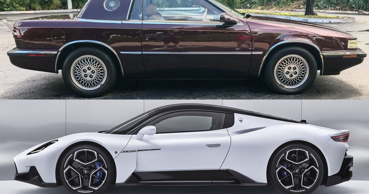 From The Chrysler TC By Maserati To The MC20: Is The Brand Back To The Glory Days?