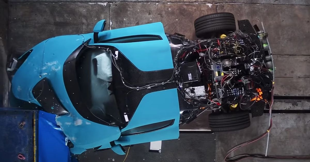 We Can't Stop Watching These Rimac C_Two Crash Tests