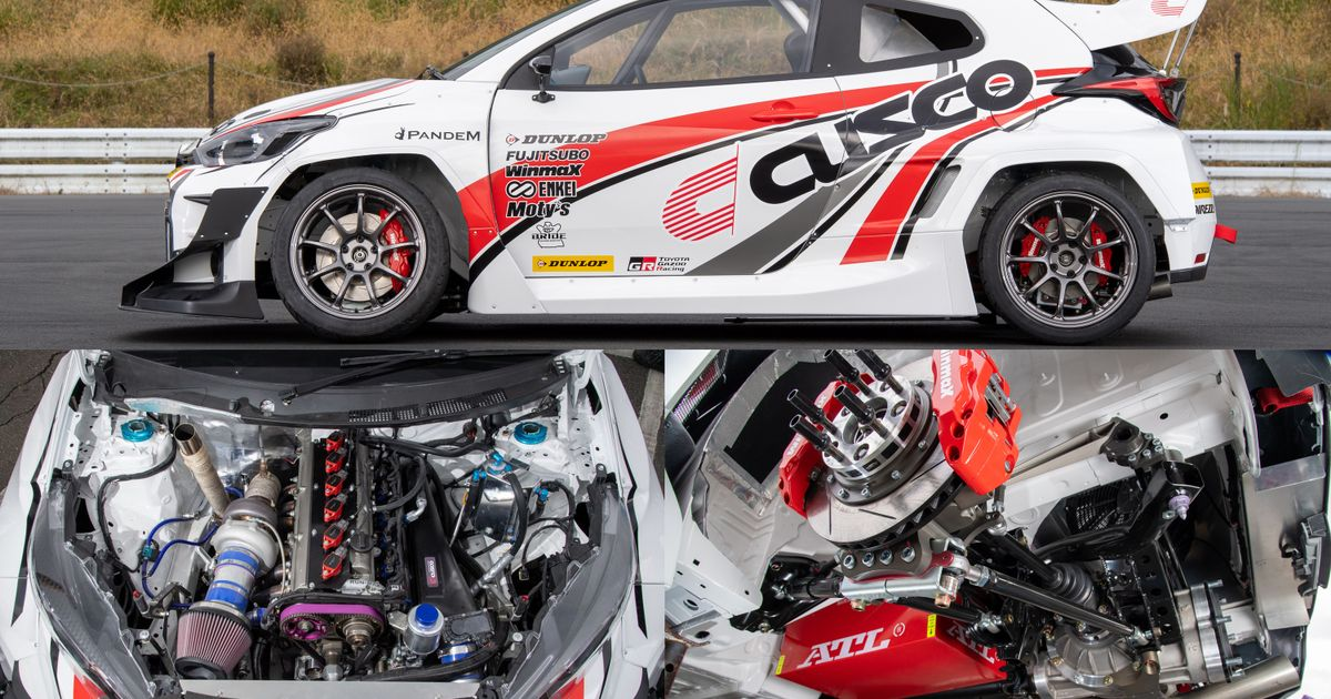 The Detail Shots Of Cusco s 2JZ-Swapped Toyota GR Yaris Are Incredible
