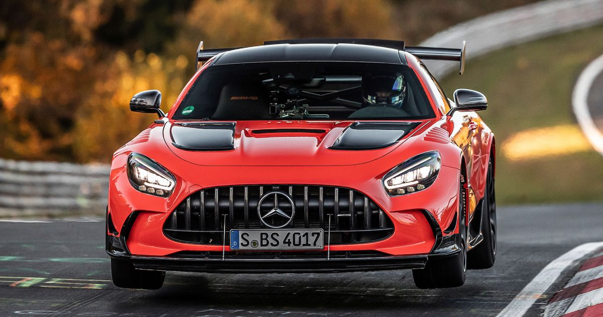Mercedes-AMG GT Black Series Is Now The  Ring s Fastest Production Car