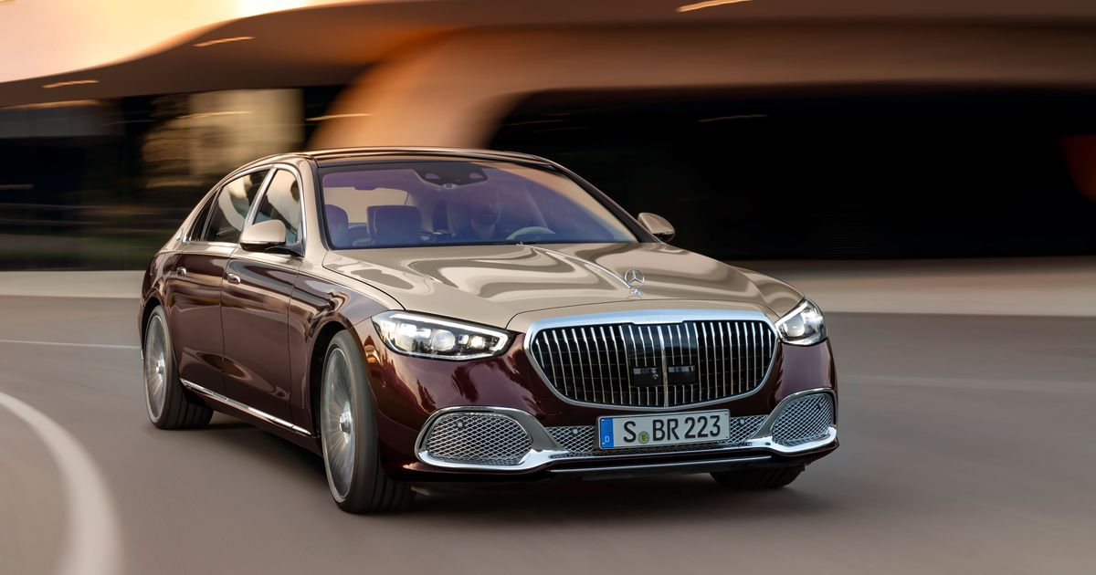 Get Your Waft On With The New Mercedes-Maybach S-Class