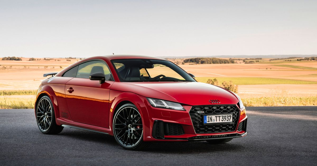 Audi TT S Gets More Power And  Competition Plus  Trim
