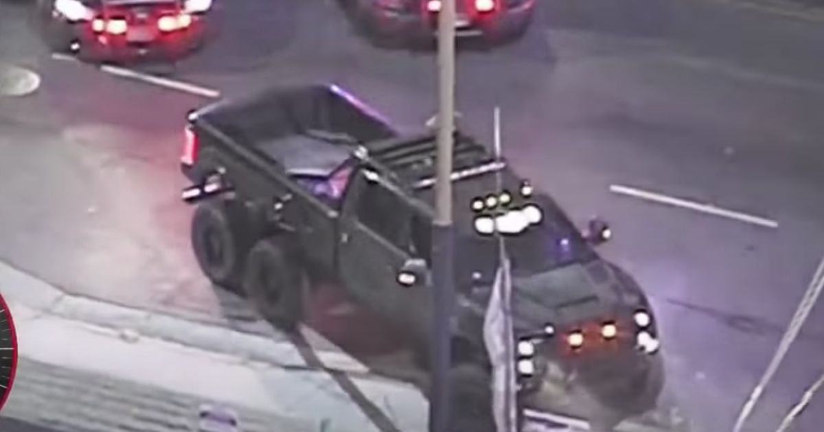 EDM Star s Stolen 6x6 Ford Super Duty Crashed During Police Chase