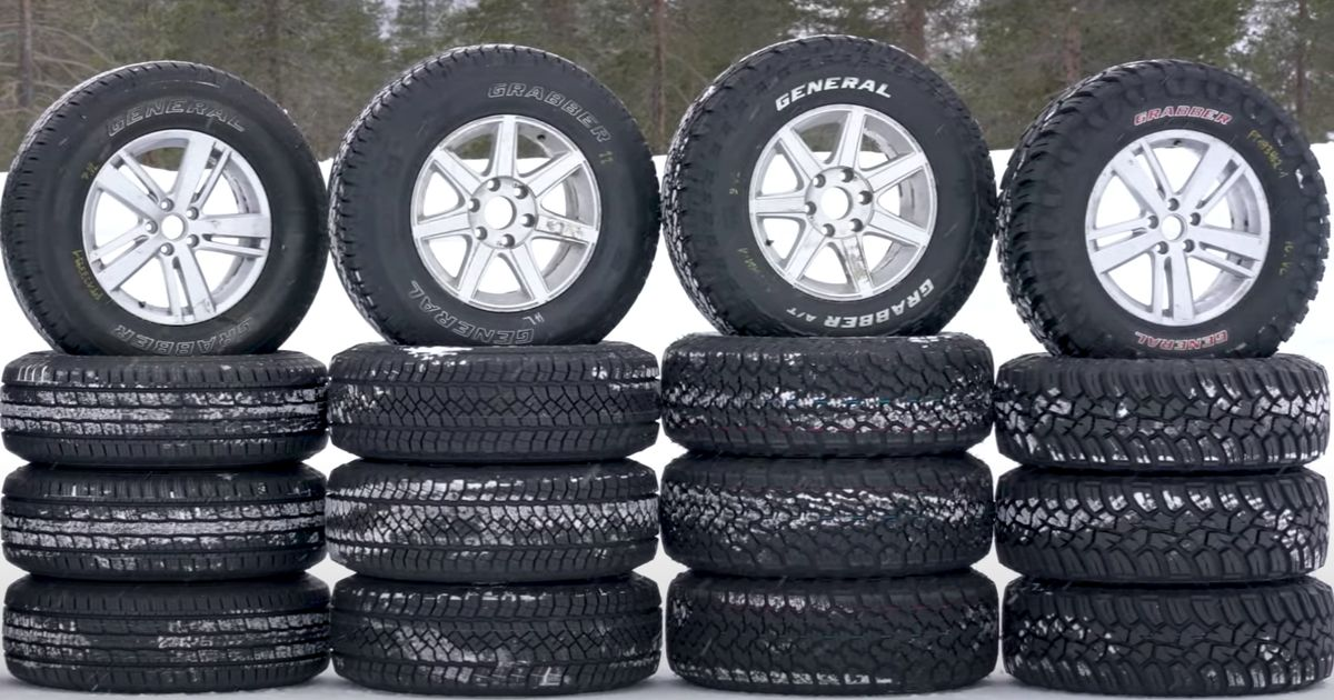 Are Chunky Mud Tyres Tyres Any Good In The Snow?