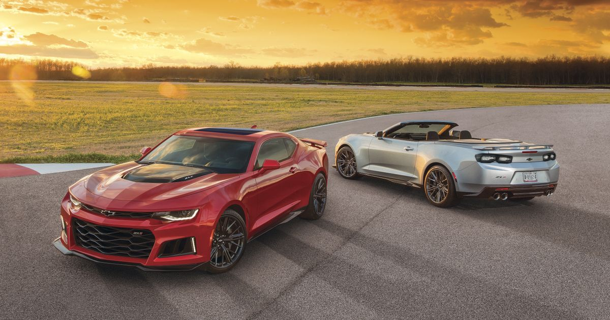 2021 Camaro SS/ZL1 To Be Banned In Two States Because Of Salmon