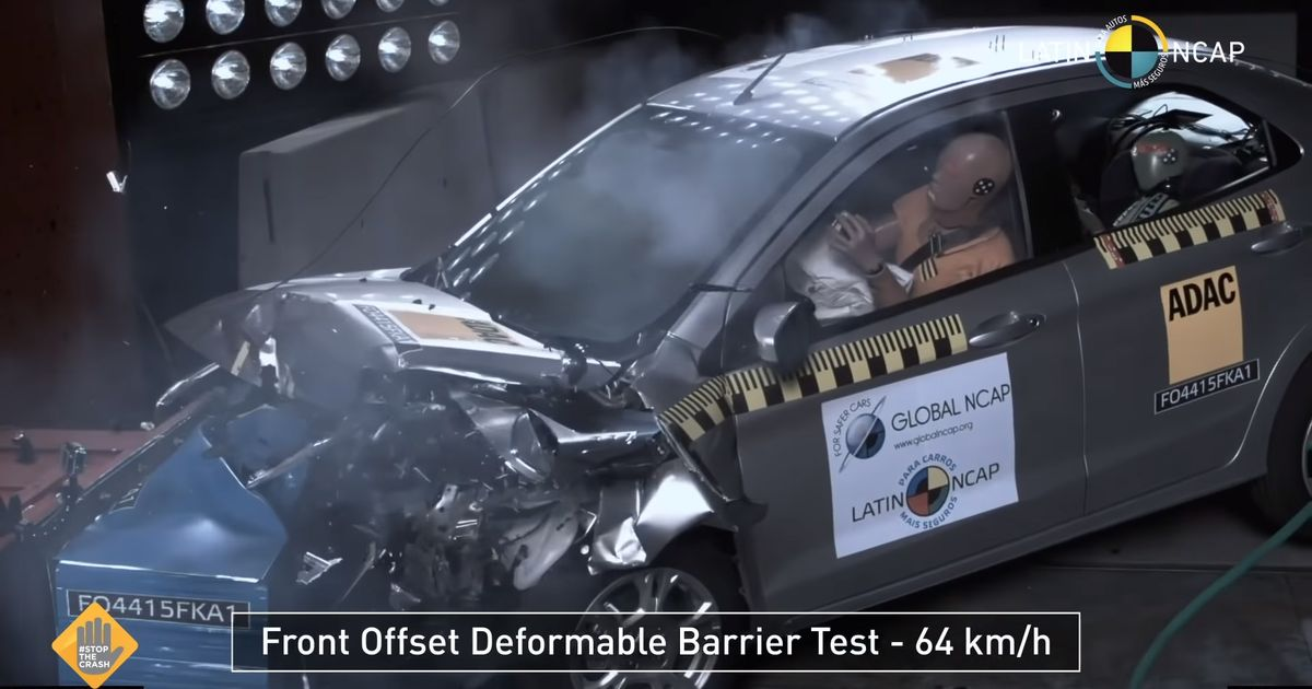 A Best-Selling Car In South America Just Scored Zero Stars For Crash Safety