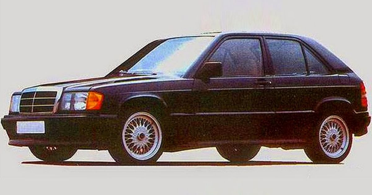 That Time When A Tuner Created The First Mercedes Hot Hatch