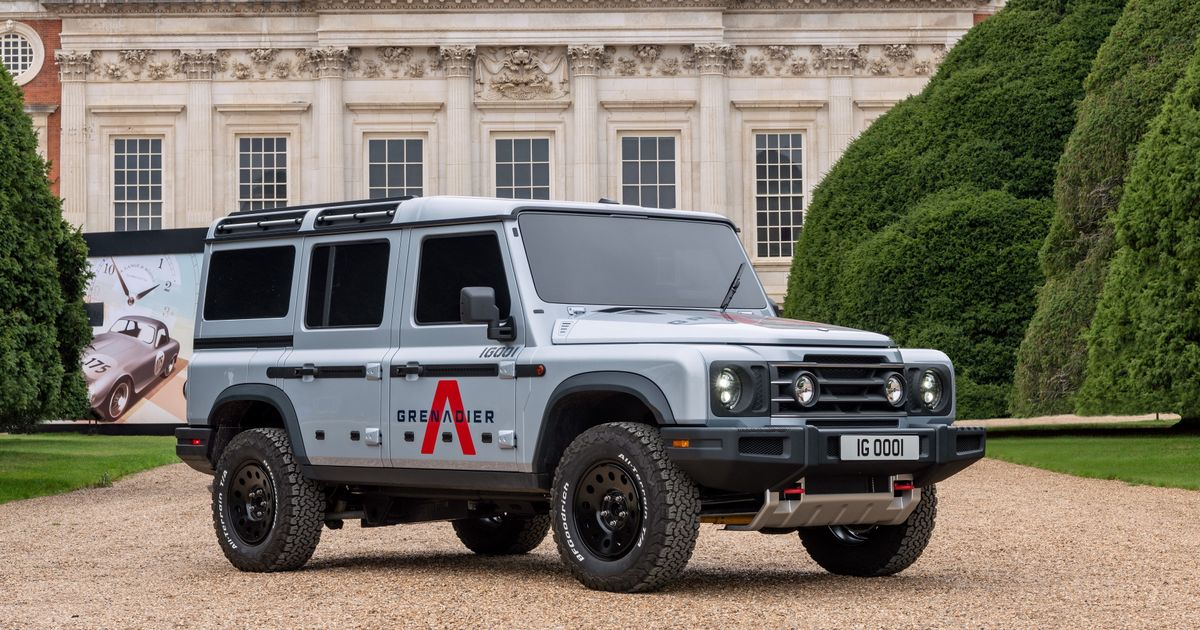 The Not-A-Defender Ineos Grenadier Will Be Built Alongside Smart Cars