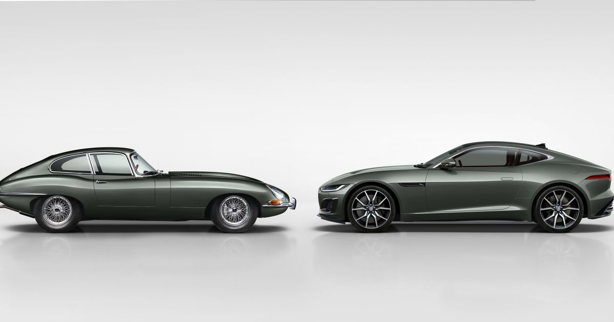 The Jaguar F-Type Heritage 60 Edition Is A Birthday Present For The E-Type