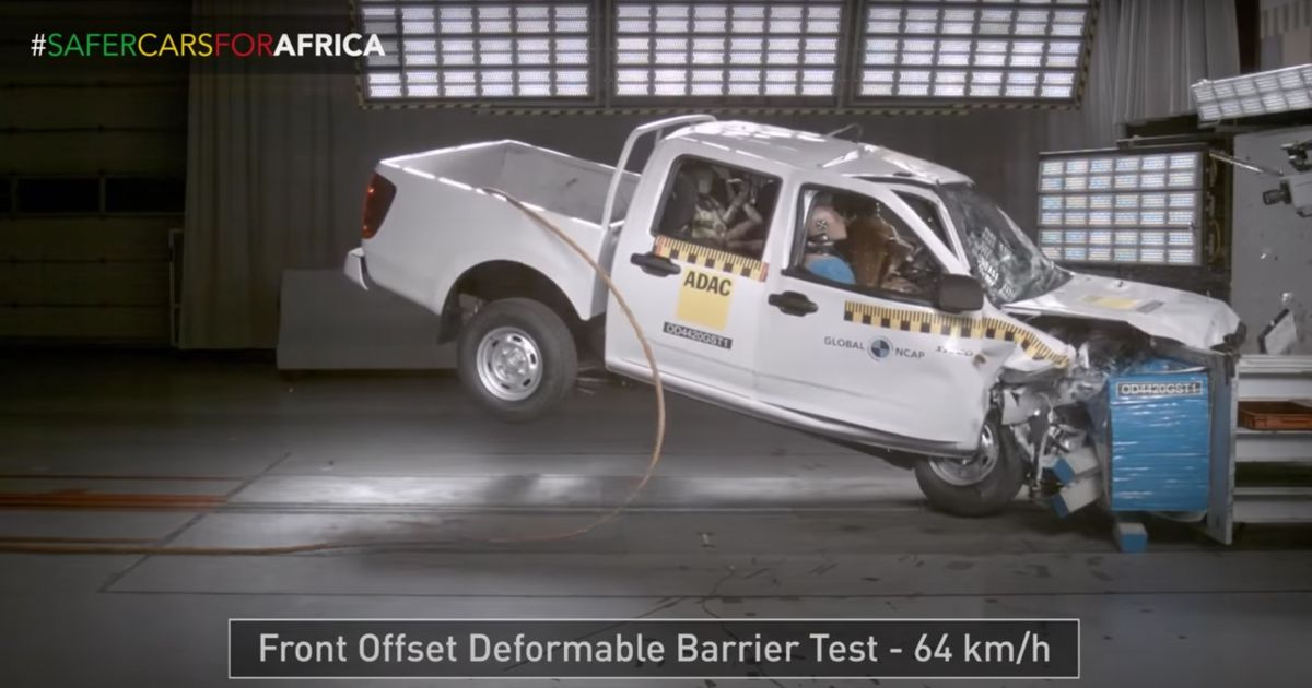 This Pick-Up Truck s 0-Star Crash Test Is Downright Horrifying To Watch