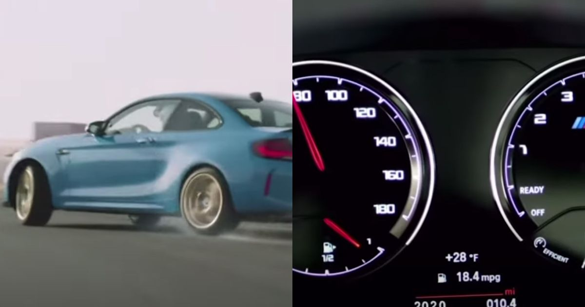 BMW Used Lamborghini V10 Noise For M2 Marketing Video, Then Deleted It