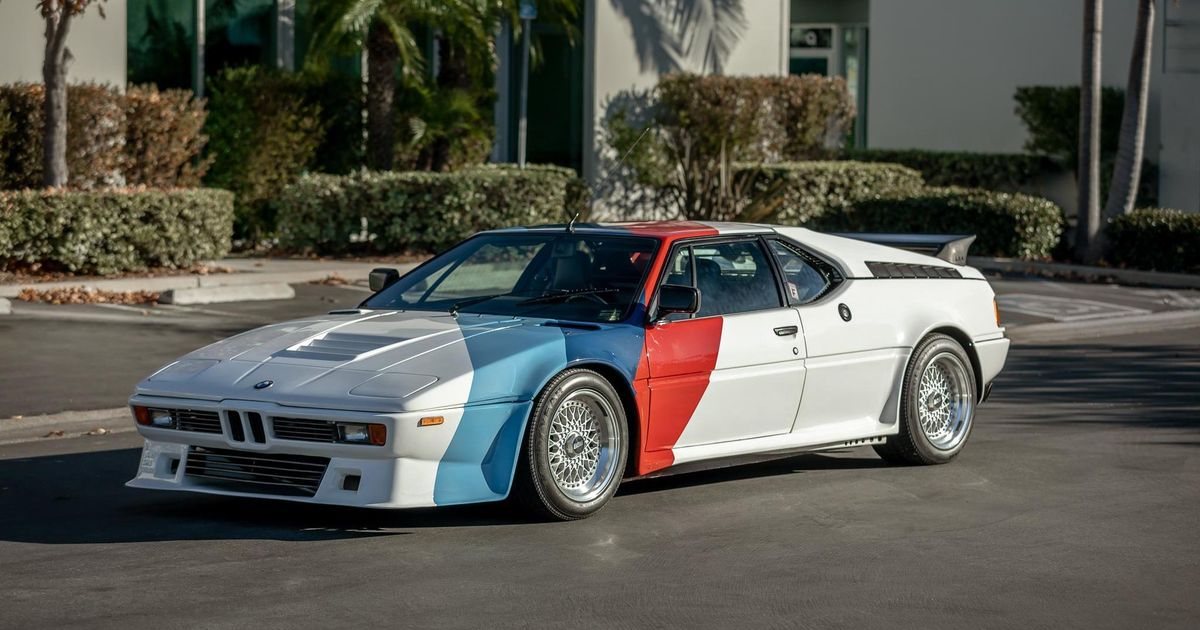 Paul Walker s 350bhp Procar Inspired BMW M1 Is Up For Auction