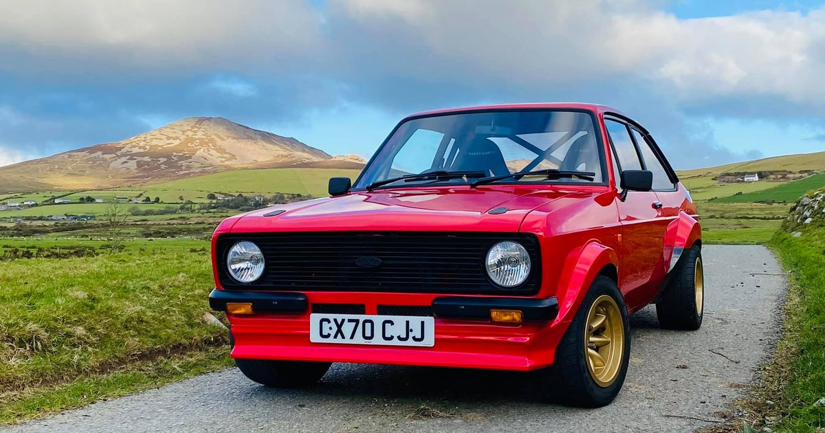 You Can (Sort Of) Buy A Brand New Mk2 Ford Escort In 2021