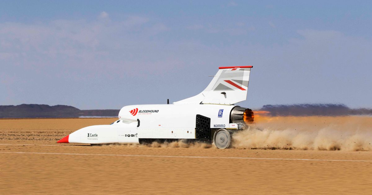 Bloodhound LSR s £8 Million Funding Bid Is The  Last Chance  To Save The Project