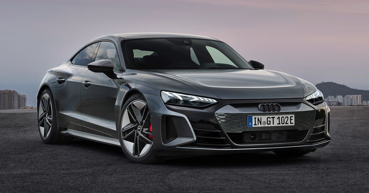 The Audi E-Tron GT Is Here And The RS Version Makes 637bhp