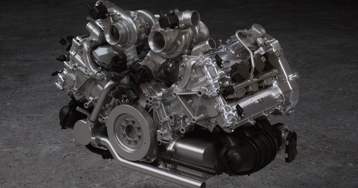 Why The McLaren Artura Has The First-Ever Production 120-Degree V6