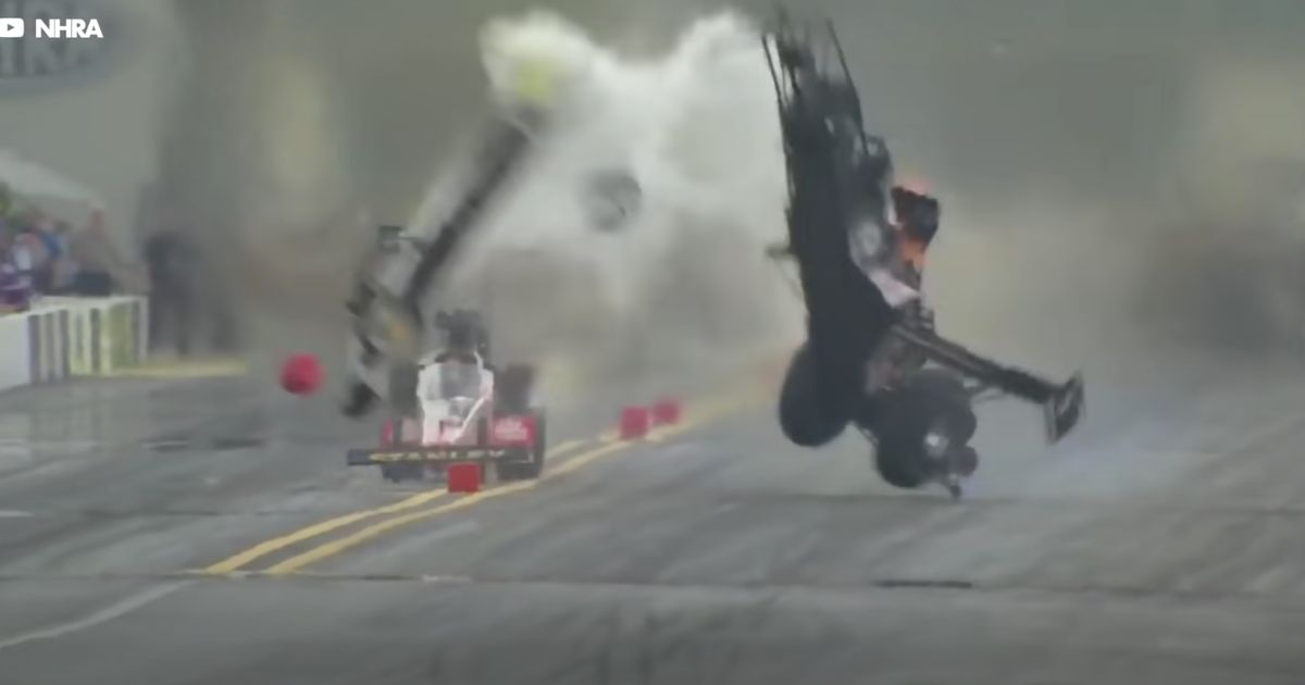 What Causes Dragsters To Split In Two, And How Engineers Try To Stop It From Happening