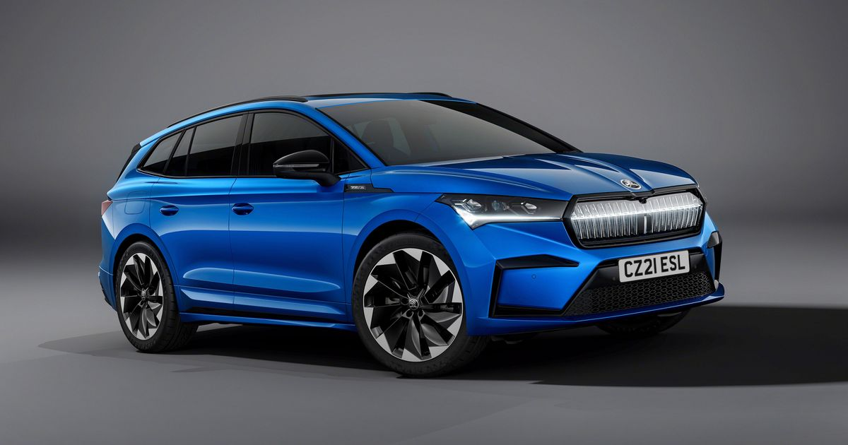 Skoda Enyaq Sportline Has Lower Suspension And 21  Wheels Because Why Not