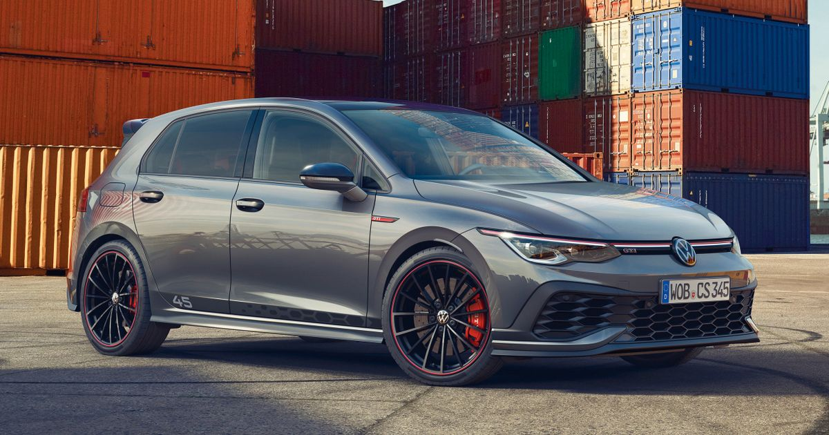 The VW Golf GTI Clubsport 45 Is Here To Celebrate A Birthday