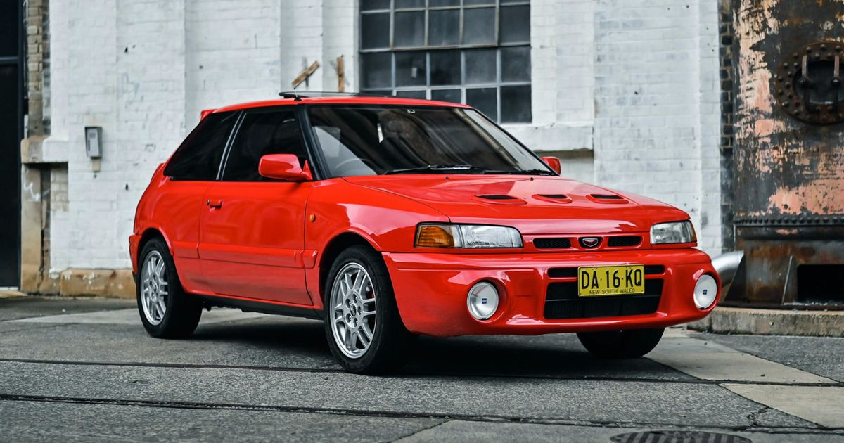 The AWD Mazda Familia GT-R Is The Toyota GR Yaris Of The 90s
