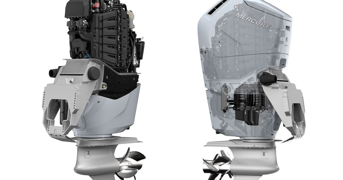 The World s First Outboard V12 Is A 7.6 N/A Monster