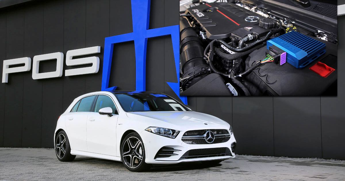 The Posaidon Mercedes-AMG A35  RS400  Has A45-Matching Power Levels