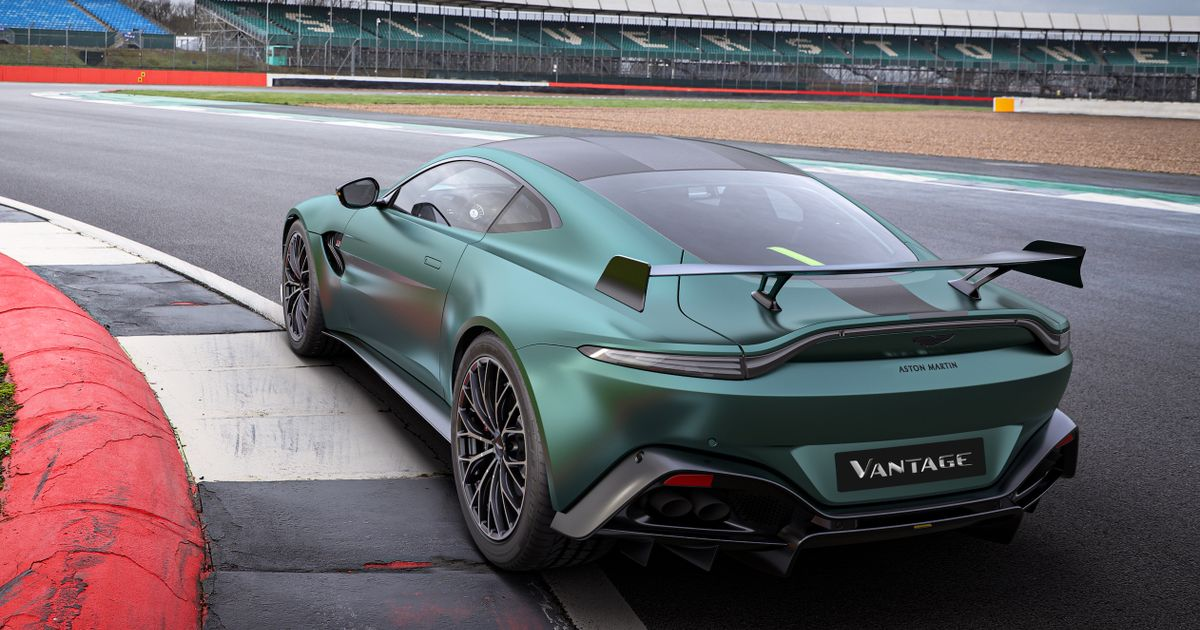 Aston Martin s Vantage F1 Edition Is The Safety Car Without The Lights