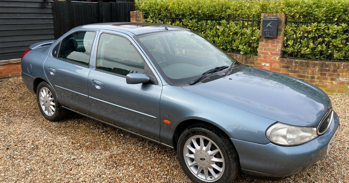 The Ford Mondeo Is About To Die - Let s Commiserate With This Early V6 Example