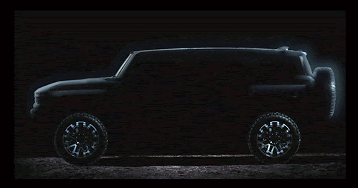 There s Going To Be A 1000bhp Hummer EV SUV And It ll Look Like This