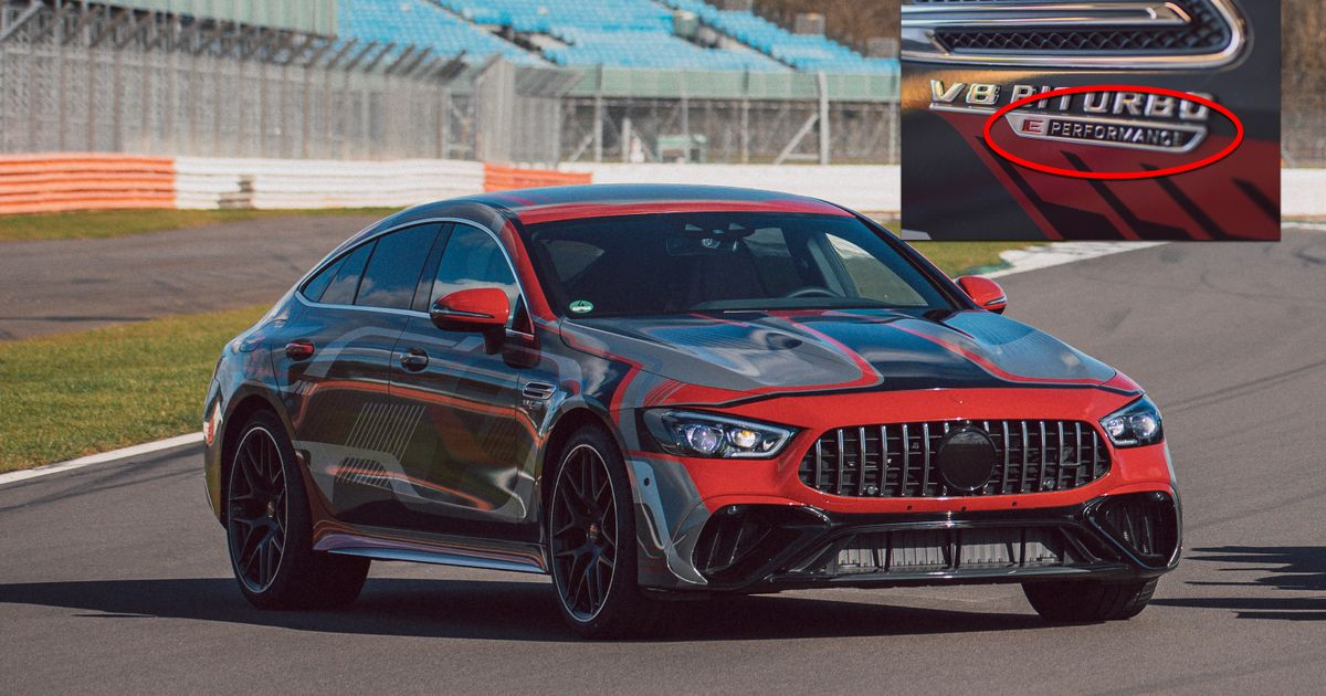 800bhp Mercedes-AMG GT 73  E-Performance  Given Early Preview With One Hypercar