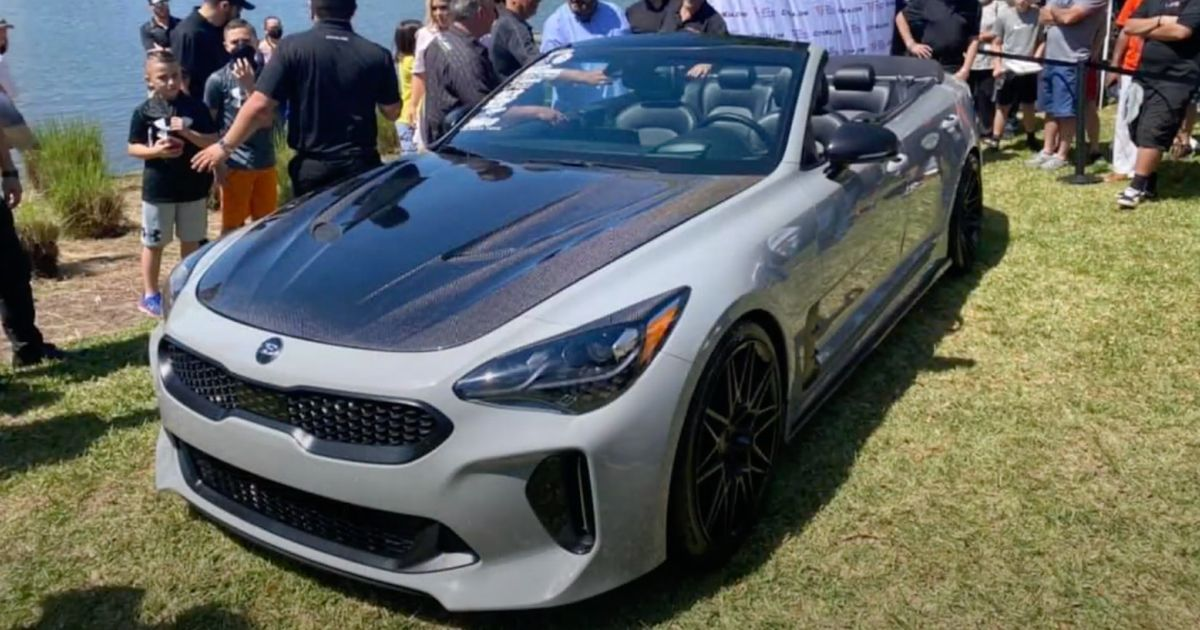 Kia Stinger GT Convertible Emerges, Looks To Be Dealer-Sanctioned Project