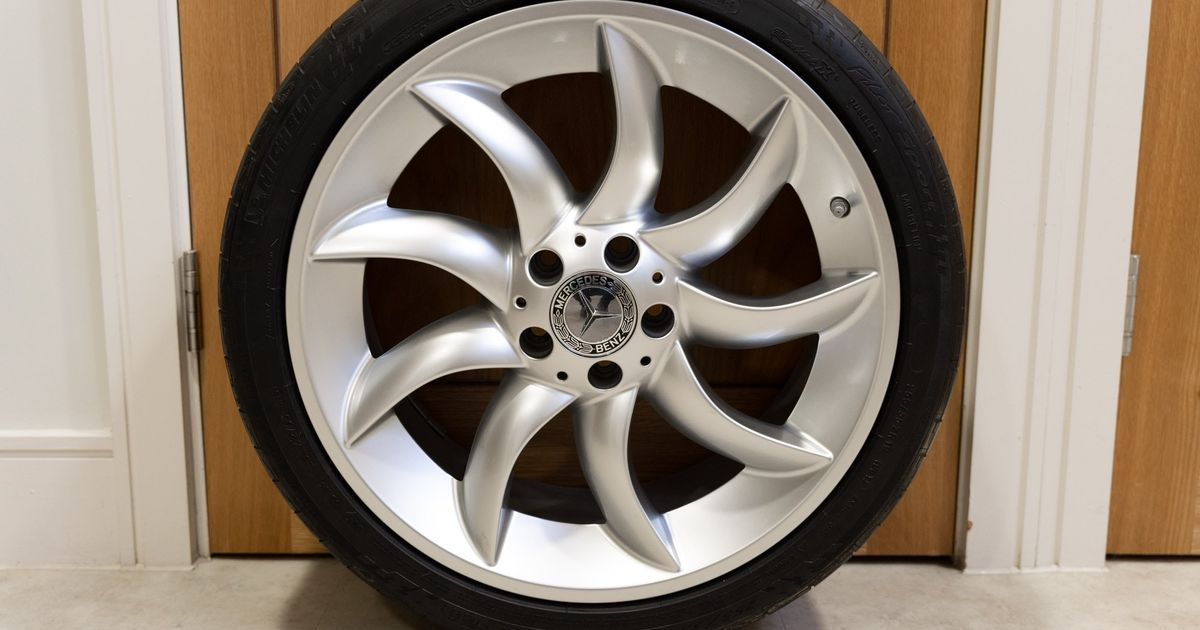 What Car Would You Put These Used Mercedes SLR McLaren Wheels On?