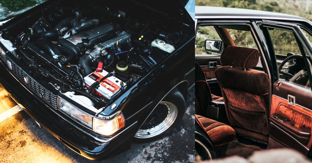 How A Wrecked Toyota Mark II Was Turned Into This 1JZ JDM Luxo-Weapon