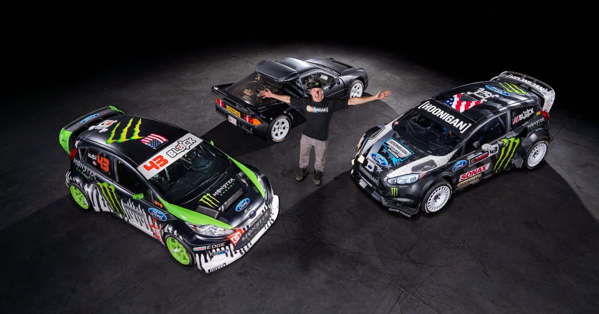 Ken Block s RS200 And Two Gymkhana Fiestas Are Up For Sale