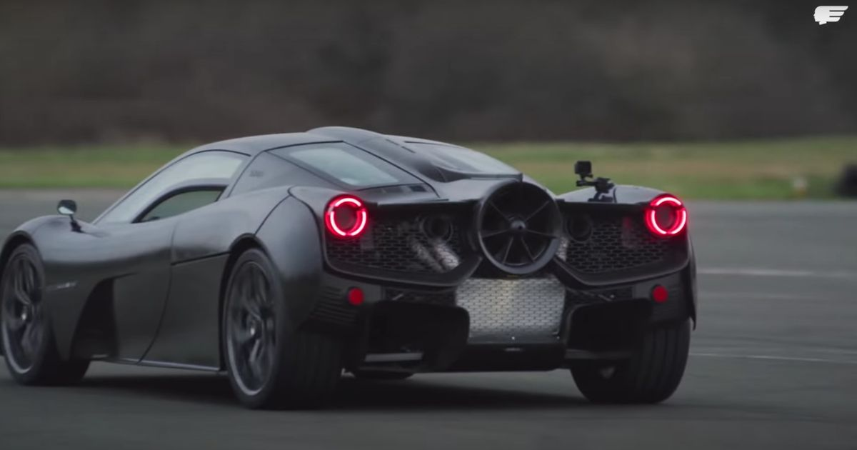 N/A V12-Powered GMA T.50 Driven For The First Time