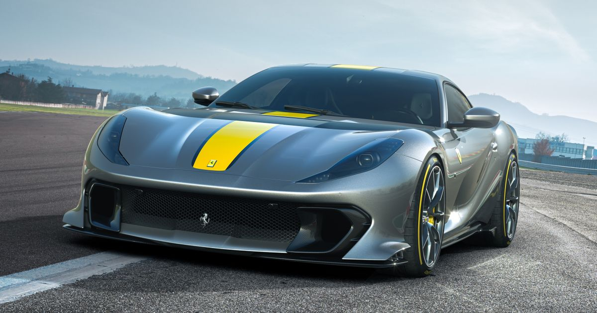Ferrari s New 812 Superfast-Based Special Revs To 9500rpm