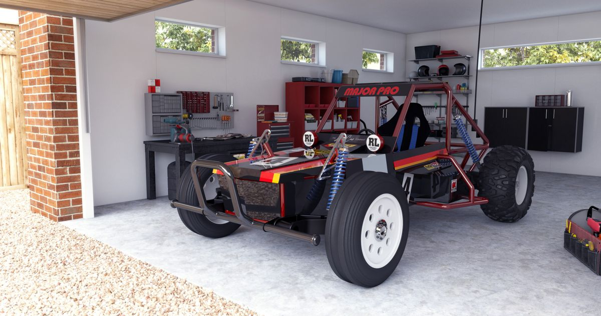 You Can Buy A Tamiya Buggy That s Big Enough To Drive