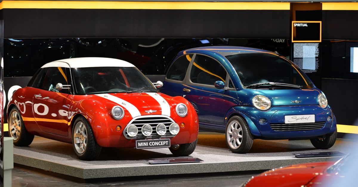 The Mid-Engined Concepts That Came Before The New Mini