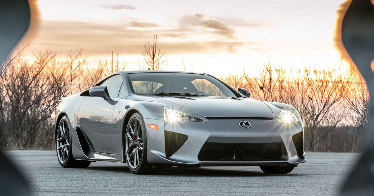 Is This The Perfect Lexus LFA Spec?