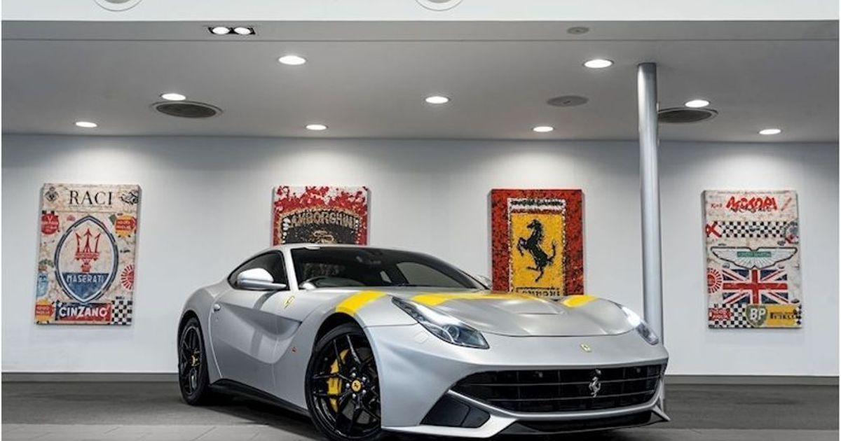 This Ferrari F12 Berlinetta Is A  Half-Price  Bargain at £145,000