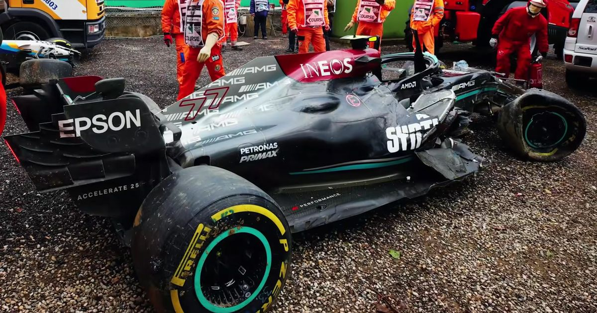 Mercedes F1 s Imola Crash Will Cost It £1 Million, Could Cause Budget Cap Headaches