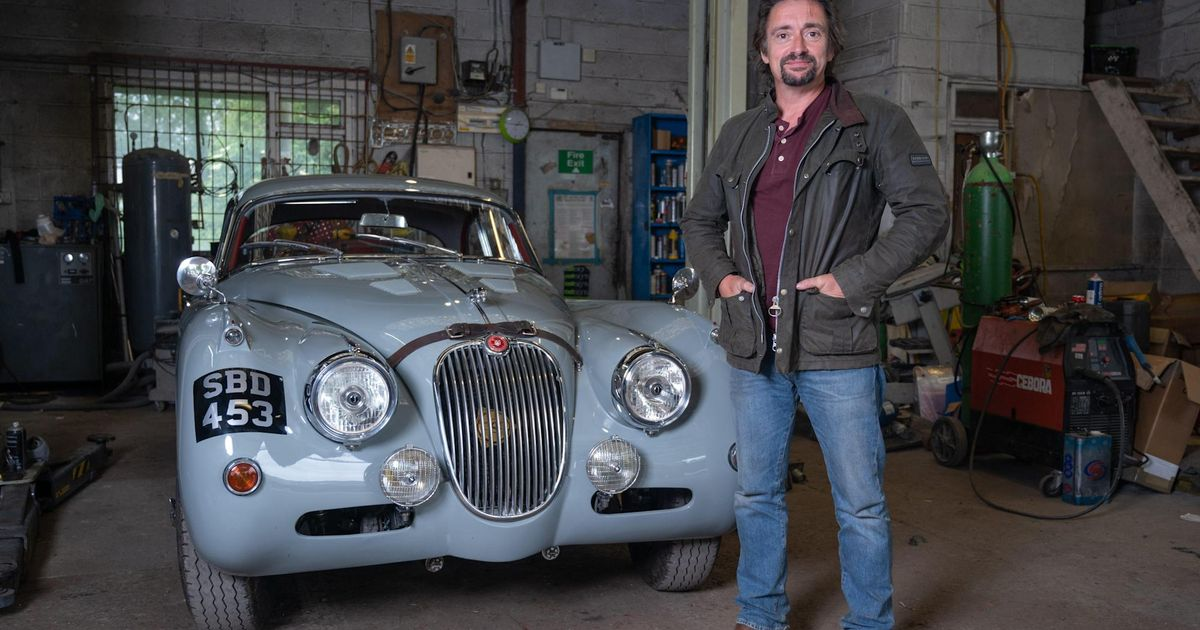 Richard Hammond Has A New TV Show About Classic Cars