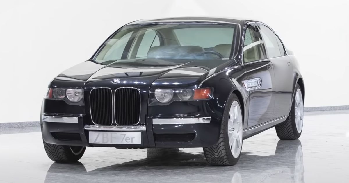 BMW - BMW Was Secretly Doing The Big Grille Thing Way Back In 1996 - Car Throttle