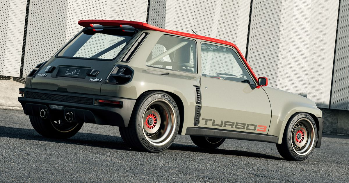 The Renault 5  Turbo 3  Is An 80s Mid-Engine Hero Reborn For The 21st Century